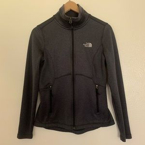 The North Face | Zip Up Sweater | Gray | Small